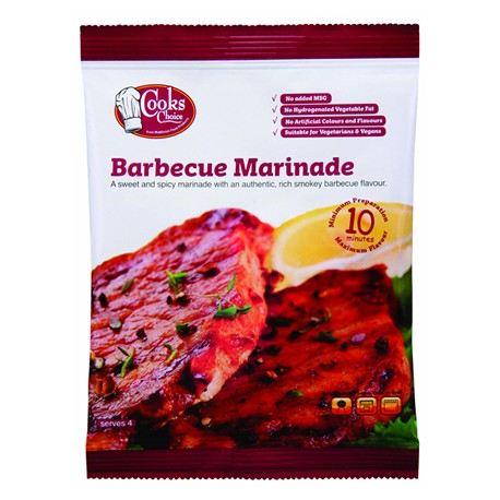 Rich and smokey barbecue flavour.
